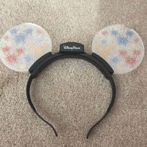 Disney parks fireworks Mickey ears